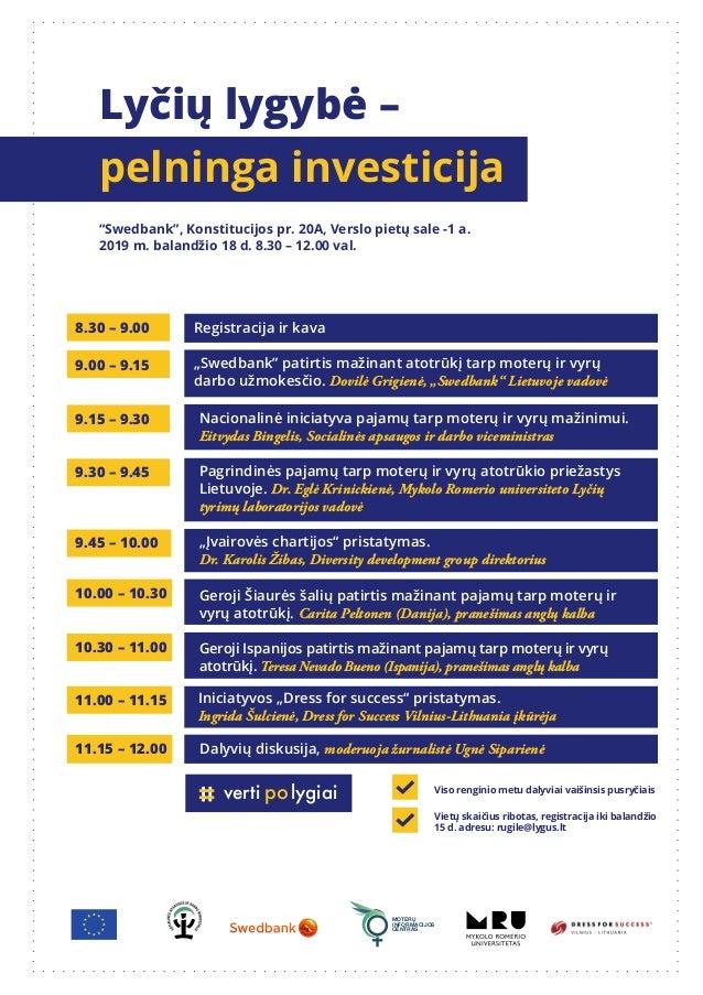 Nacionalinė iniciatyva pajamų tarp moterų ir vyrų mažinimui. Eitvydas Bingelis, Socialinės apsaugos ir darbo viceministras...