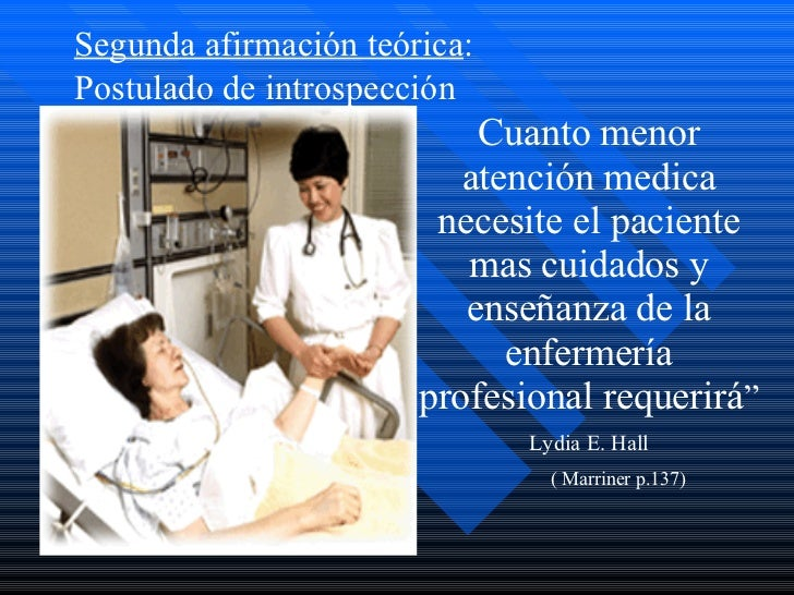 lydia hall Lydia e hall - care, core, cure application of care, core, & cure in nursing based on the theory that nursing care can and does significantly aid in the patient's.