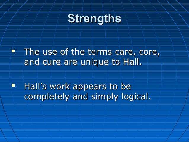 care core cure theory lydia hall Mempelajari teori keperawatan oleh tokoh dunia lydia e hall  teori care, cure, & core adalah salah satu teori keperawatn yang dikemukakan oleh lidya e hall .