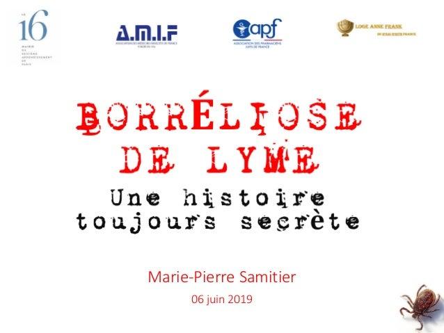 Marie-Pierre Samitier 06 juin 2019