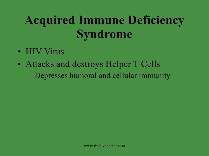the acquired immune deficiency syndrome essay Aids essays / acquired immune deficiency syndrome aids (acquired immune deficiency syndrome) is a deadly disease for which there is no cure.