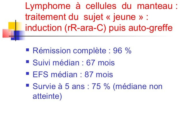 Lymphome du manteau remission