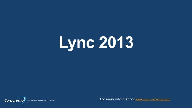 Lync + Dynamics CRM Event Slide 3