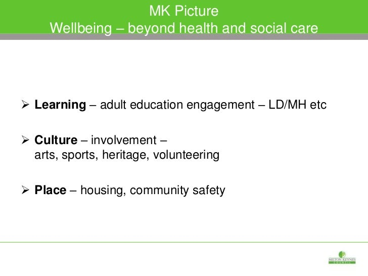 Platform of planned/fully integrated health and social  care adult services – 'one' arrangement – 1500 staff/£70m