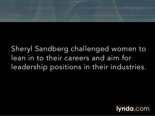 """Five Ways for Women to """"Lean In"""" to Their Careers in 2014 Slide 2"""