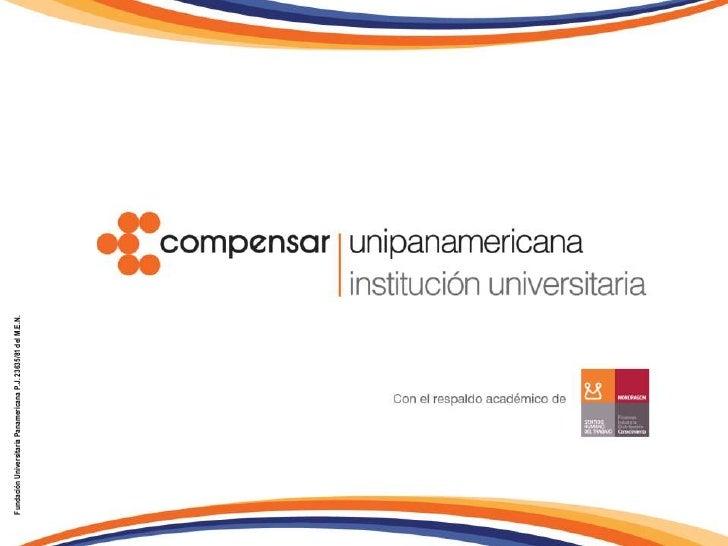 Fundación Universitaria Panamericana P.J. 23635/81 del M.E.N.<br />