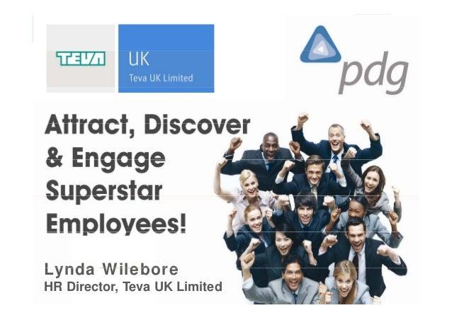 Lynda WileboreTeva UK LimitedLynda WileboreHR Director, Teva UK Limited