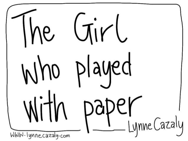 Lynne Cazaly - Agile Australia 2014 Presentation 'The girl who played with paper'