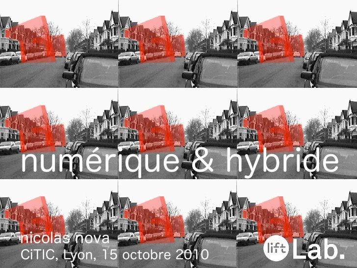 Numérique & Hybride