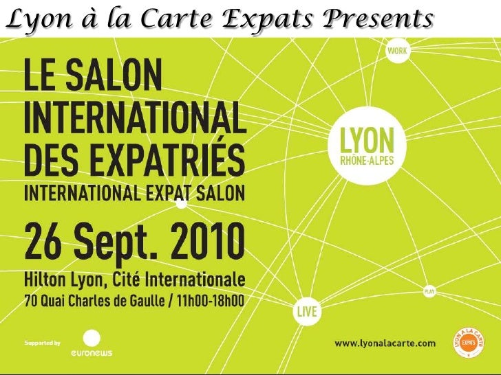 Lyon à la Carte Expats Presents<br />
