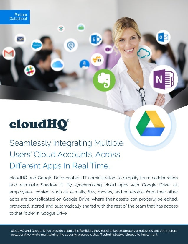 cloudHQ and Google Drive Datasheet