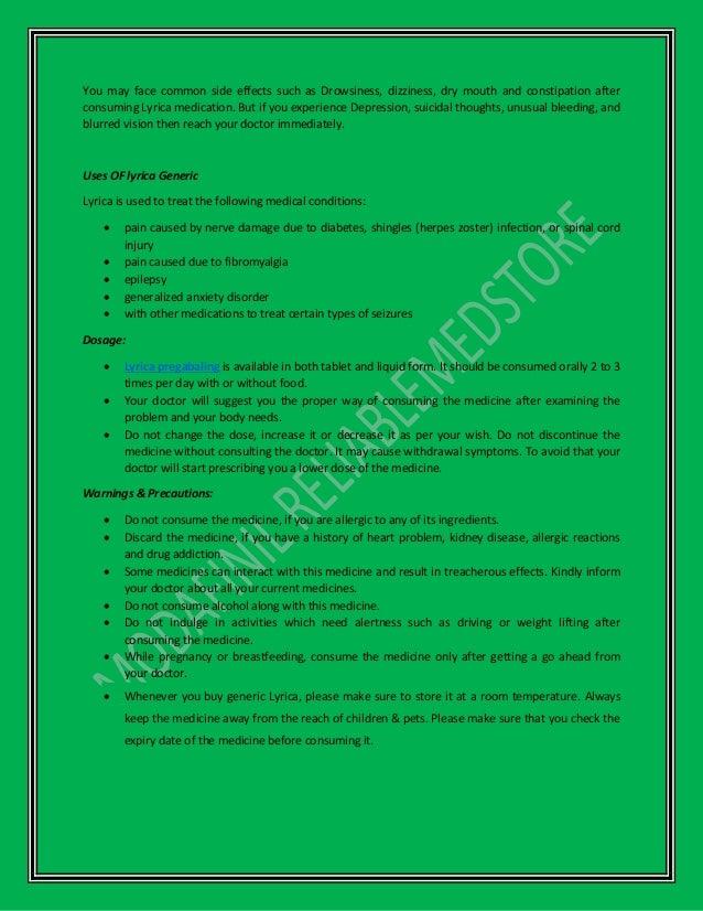 Lyrica generic pregabalin 150 mg