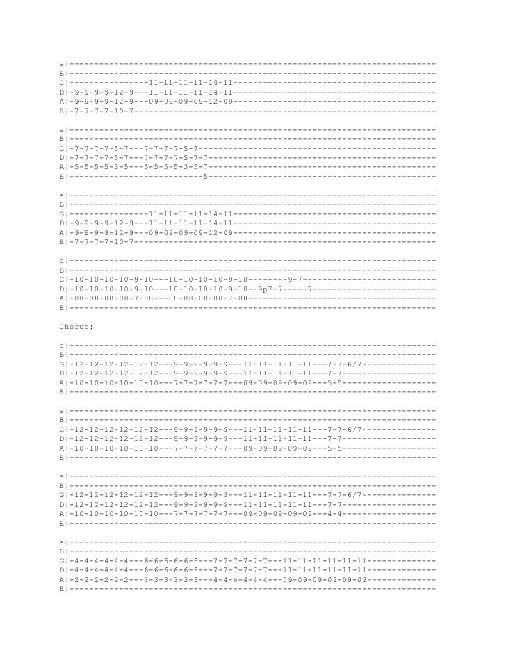 Foo Fighters Chords Everlong Everlong Acoustic version Sheet Music ...