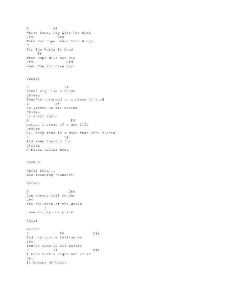 Lyric And Chord Guitar Scorpions