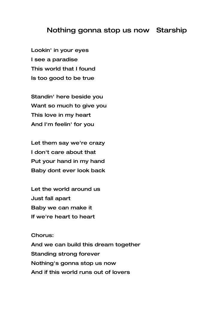 Lyrics for graduation songs