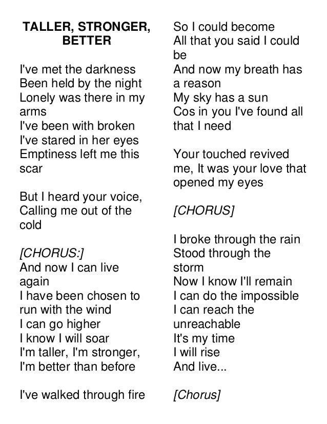 Emptiness lonely song lyrics