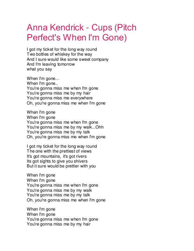 How long gone are you gonna be lyrics