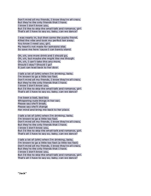 Lyric all i know lyrics : Lyrics