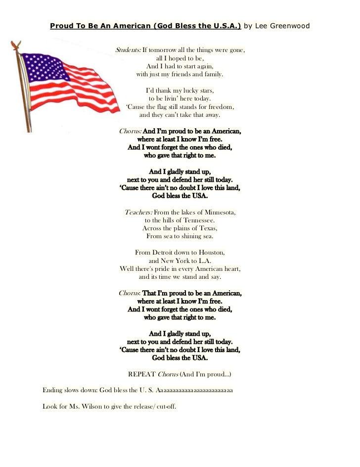 Lyric lyrics to family of god : Lyrics Proud To Be An American