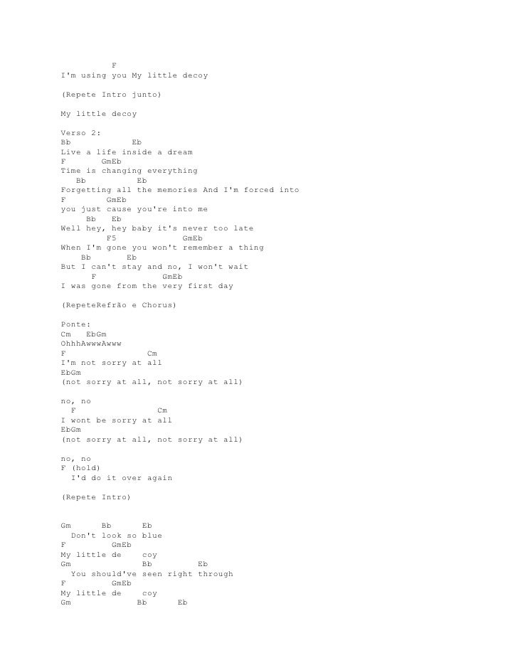 Lyrics And Chords Guitar Paramore