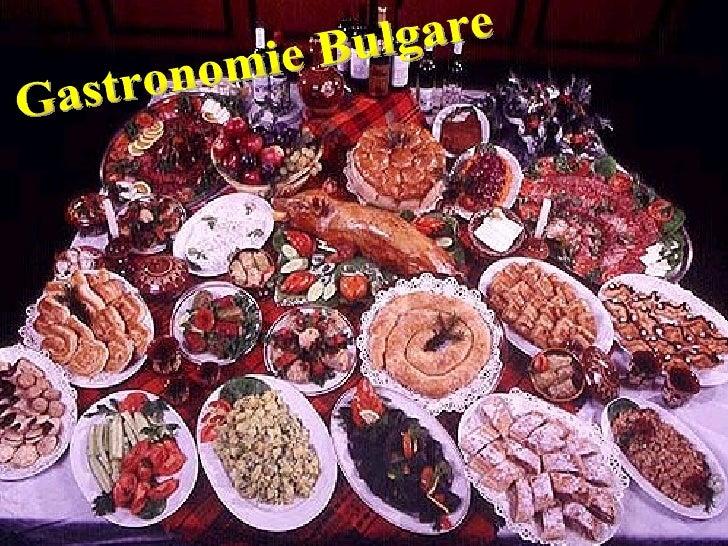 Gastronomie Bulgare