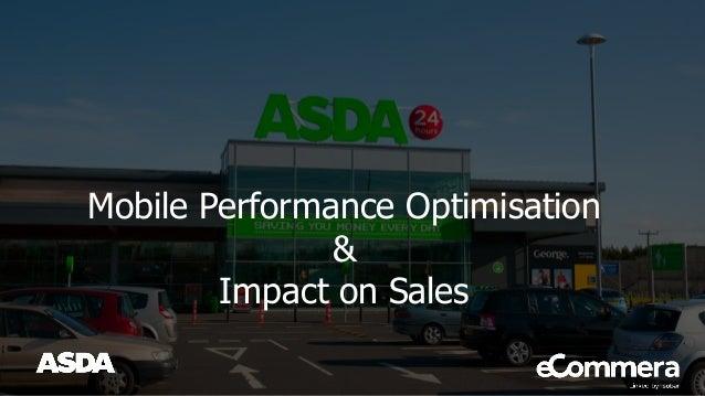 Mobile Performance Optimisation & Impact on Sales