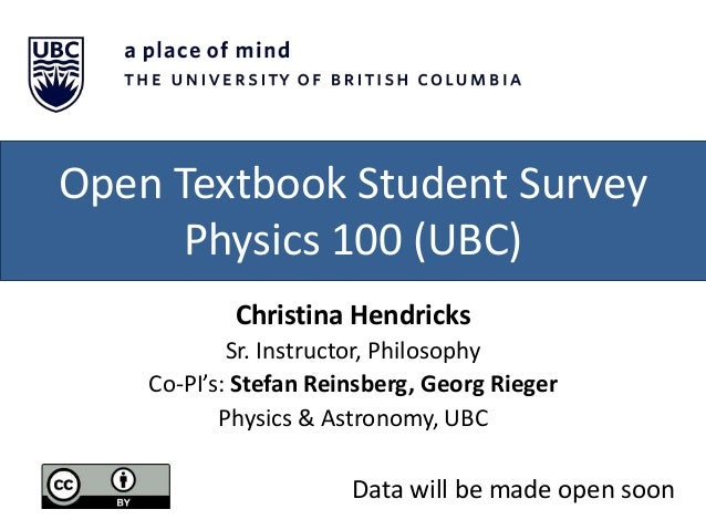 Research on Open Educational Resources & Open Textbooks from BC, Canada Slide 3