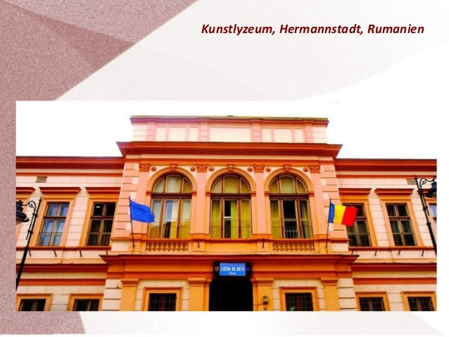Kunstlyzeum, Hermannstadt, Rumanien