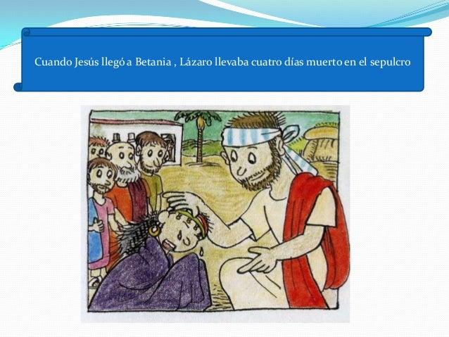 1.     .         María salió rápidamente a verle . Y le dijo lo mismo que su          hermana. Llevaron a Jesús ante el se...