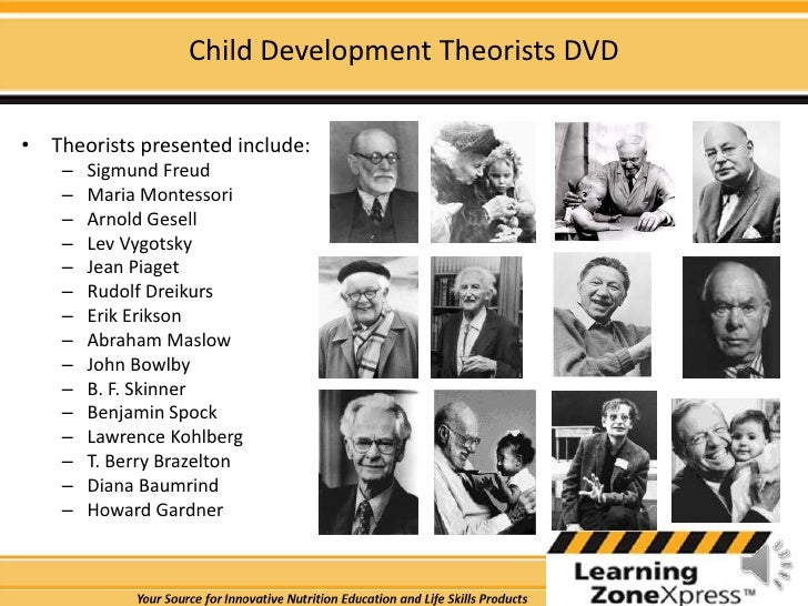 child development theories Child development, care and guidance unit 2 - - name:_____hour____ major theorists of child development theorist findings or ideas.