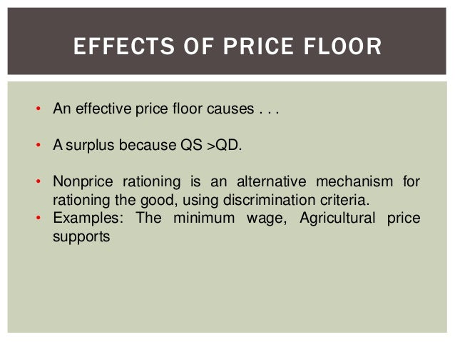 topic 4 - price controls & elasticity