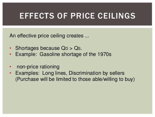 PRICE CEILINGS (PC); 9.