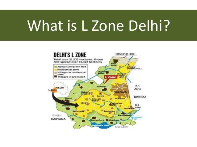 What is L Zone Delhi?