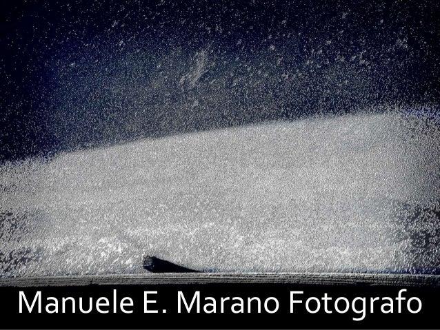 Manuele E. Marano Fotografo