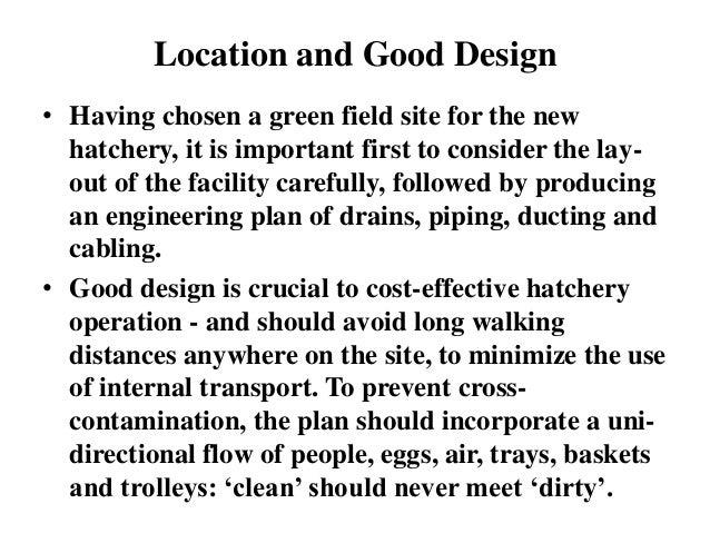 hatchery design Slide 2