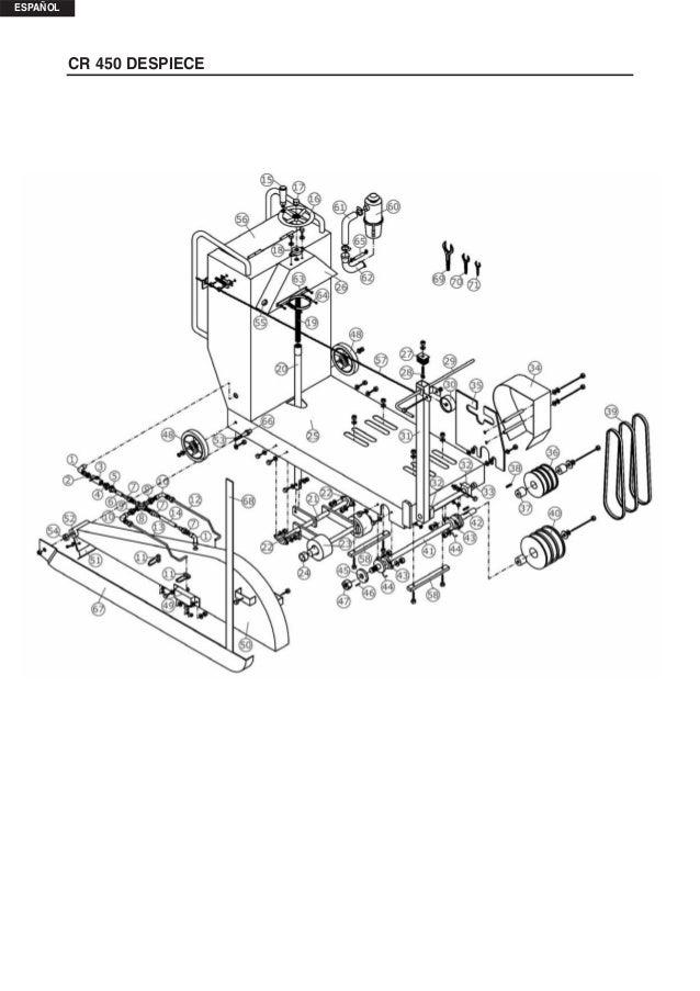 Manual de Instrucciones Cortadora de disco BENZA CR 450