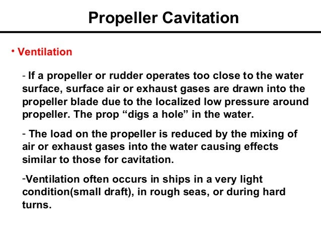 Propeller and Rudder