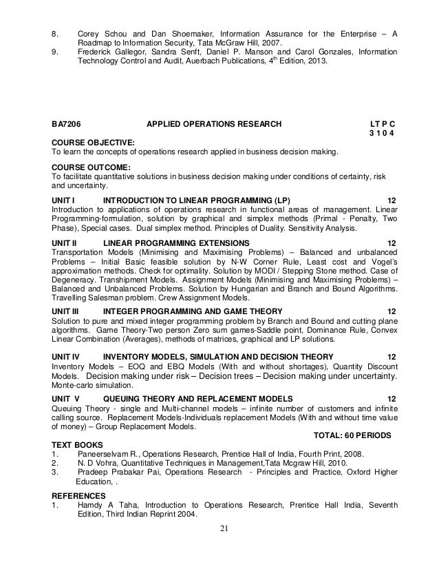 Anna university syllabus mba affiliated ft pt 10th edition 2012 20 21 fandeluxe Choice Image