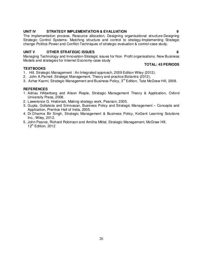 Business policy by azhar kazmi pdf