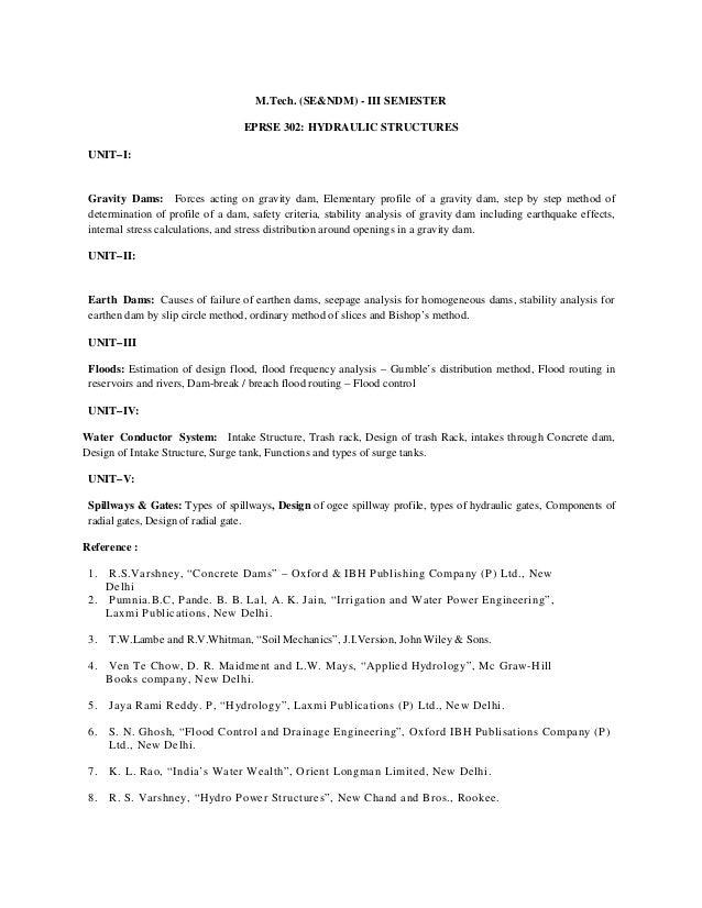 M.tech (se & ndm) w.e.f. 2012 13 batch