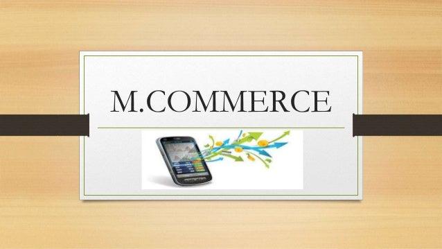 M.COMMERCE