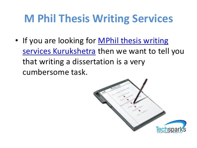 Research dissertation mtech