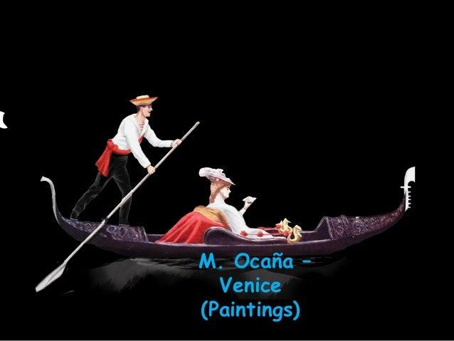 M. Ocaña – Venice (Paintings)