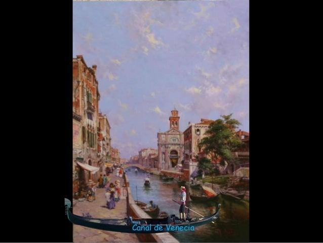 Venice in  M. Ocaña's paintings Slide 3