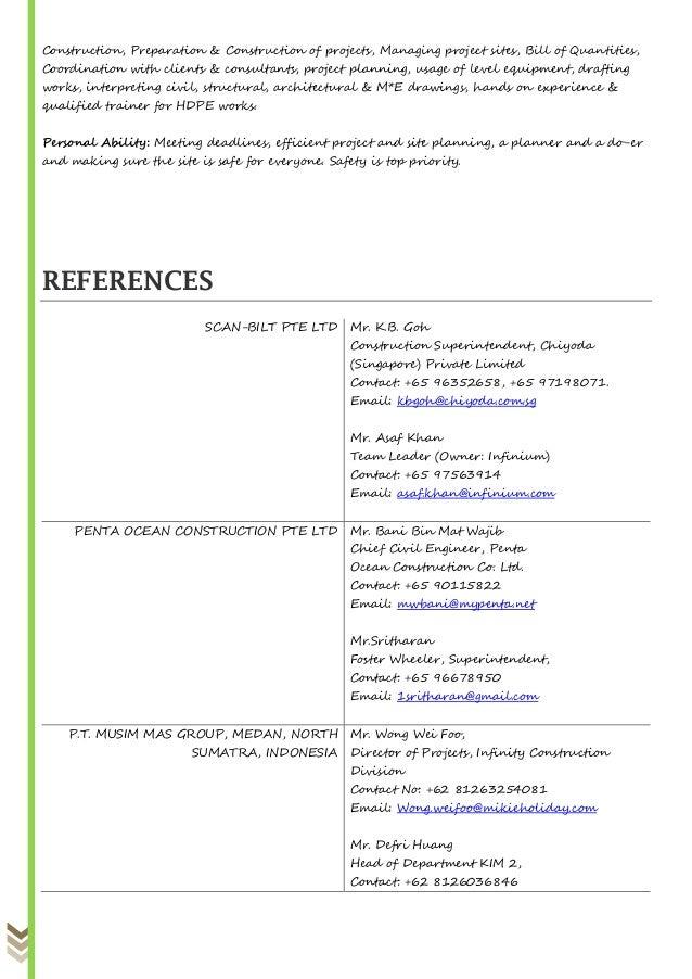 M s  resume 290817