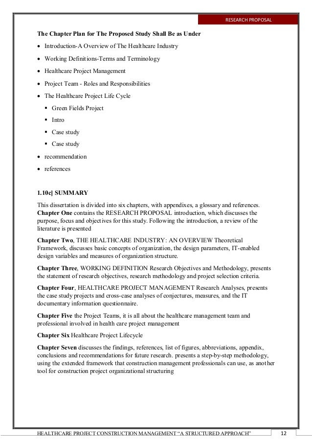health management project topics