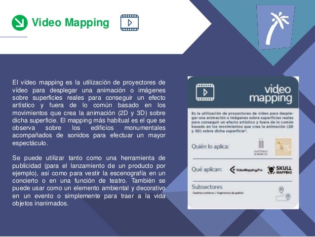 Video Mapping *teniendo en cuenta s�lo los que han invertido El v�deo mapping es la utilizaci�n de proyectores de v�deo pa...