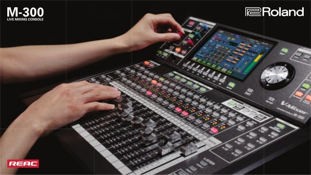 Compact, uncompromising sound and features with impressive mixing capacity The M-300 V-Mixer is the ultimate solution for ...