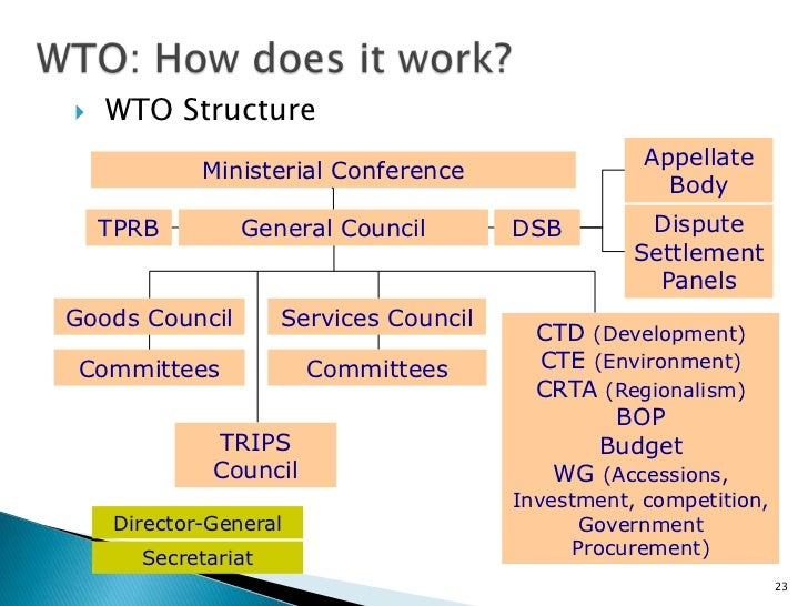 WTO at 10: The Contribution of the Dispute Settlement ...