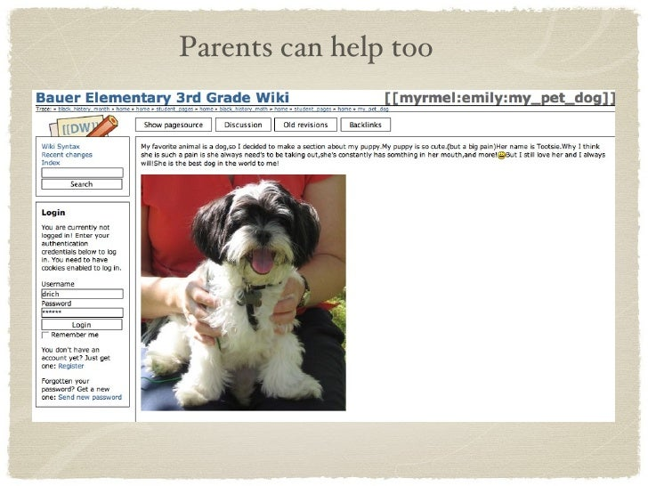 Parents can help too